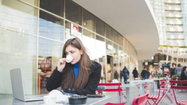 woman-work-outside